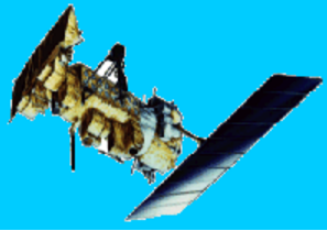 This is an image of one of the polar orbiting NOAA weather satellites .