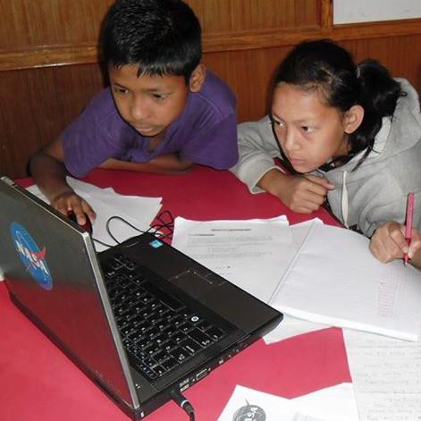 Images of Students in Workshp by Niraj Raj