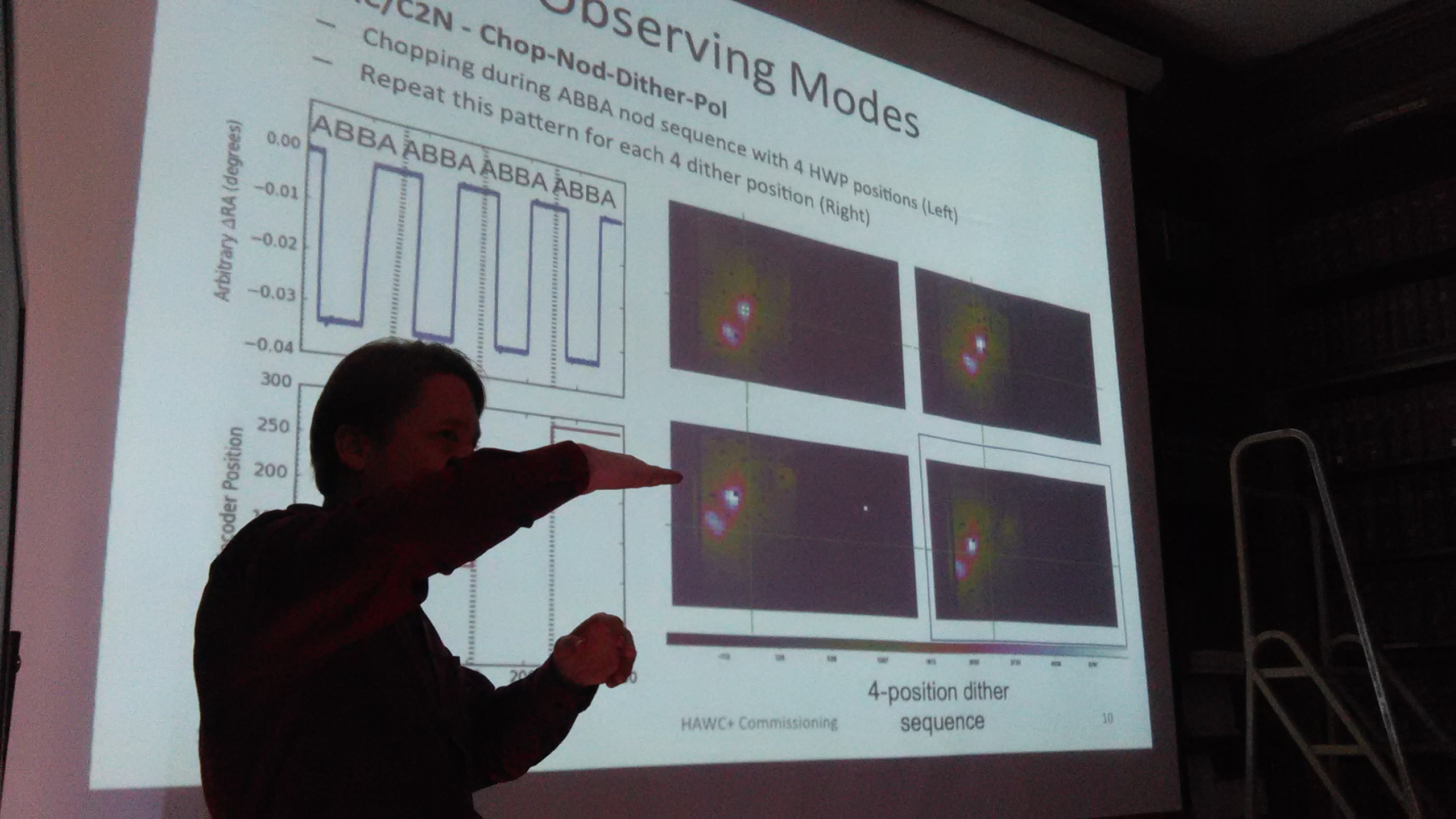 Marc B presenting