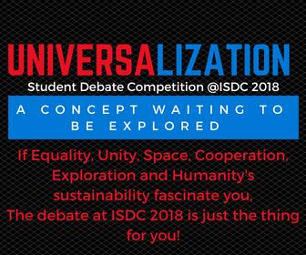ISDC 2018 Student Debate