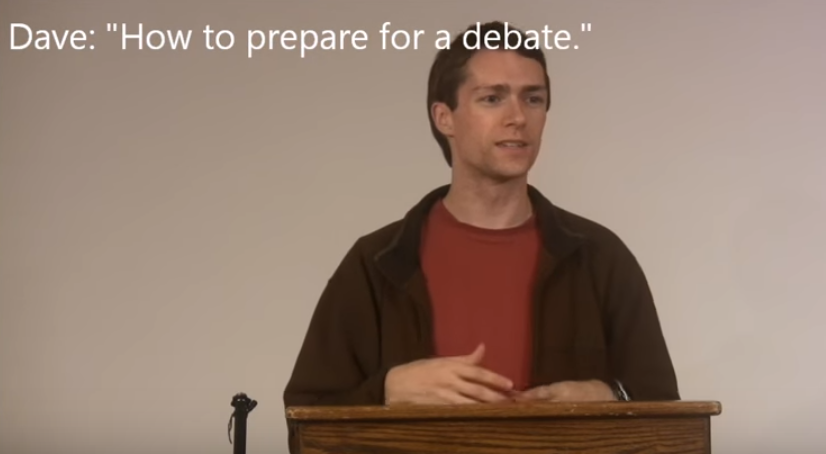 Dave of the Canadian Debate Society photo